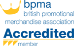 British Promotional Merchandise Association - Accredited Member